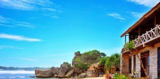 Pantai Indrayanti tempat wisata keren di Jogja