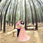 Konsep Foto Prewedding Cantik di Hutan Pinus Imogiri Jogja