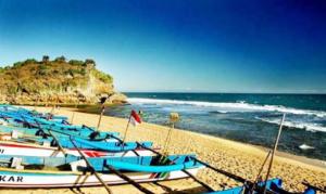 Pantai Terisk, Wisata Pantai Mblusuk di Jogja