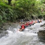 Obyek Wisata Santirah River Tubing Pangandaran