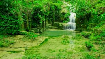 Lokasi Wisata Alam Air Terjun Lepo Dlingo Bantul