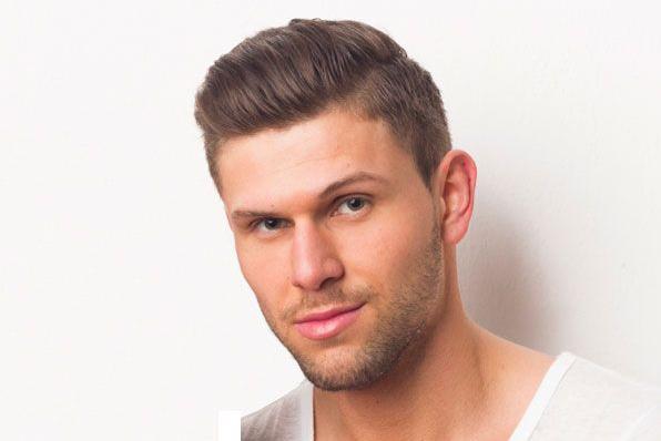 Ide Model Rambut Pria Terbaru Sesuai Bentuk Wajah Arwinicom - Gaya rambut pendek untuk wajah bulat pria