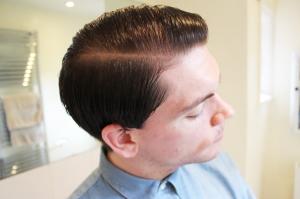 Gaya Rambut Terbaru Side Part Untuk Laki-laki Wajah Bundar