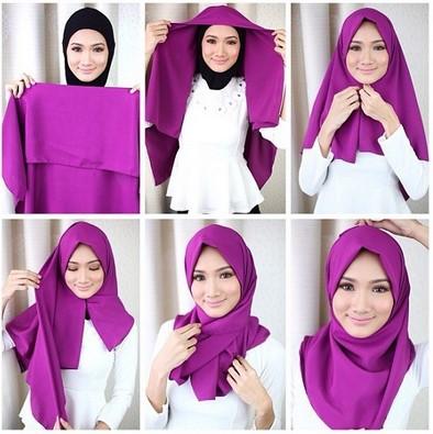 Cara memakai jilbab paris modern untuk gaya yang lebih elegan dan formal