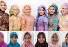 Tutorial Hijab Kebaya