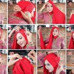 Tutorial hijab kebaya simpel untuk pesta