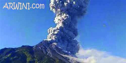 gunung merapi meletus 2018